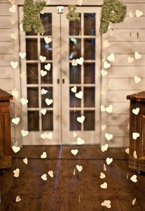 filléres dekoráció esküvőre
