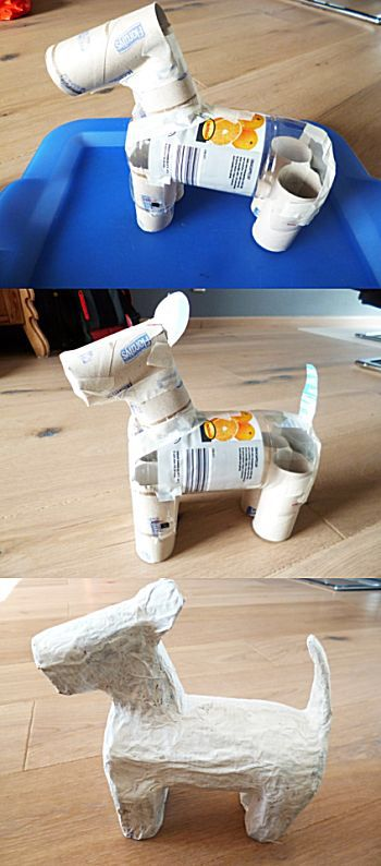 papírmasé állatka