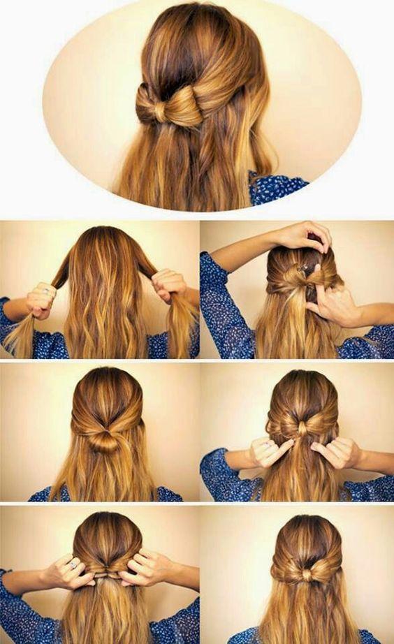 egyszerű ballagási frizura